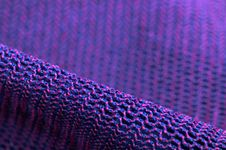 Free Pink And Purple Macro Fabric Texture Stock Images - 27333394