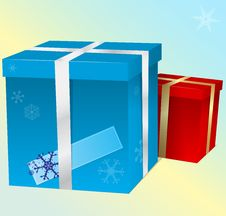 Free Vector Gift Boxes Royalty Free Stock Photo - 27335265