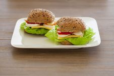 Free Healthy Sandwich Stock Photo - 27335390