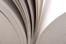 Free Macro View Of Book Pages Stock Images - 27337574