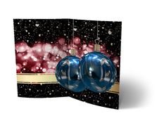 Free Christmas Balls Brochure, Card Illustration Royalty Free Stock Photos - 27339508