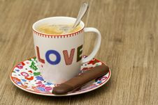 Free Cup Of Coffee Royalty Free Stock Image - 27339566