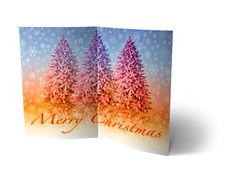 Free Christmas Balls Brochure, Card Illustration Royalty Free Stock Photography - 27339637