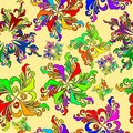 Free Graphic Element. Floral Seamless Texture. Stock Image - 27341251