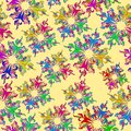 Free Graphic Element. Floral Seamless Texture. Royalty Free Stock Photos - 27341608
