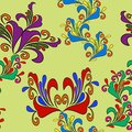 Free Graphic Element. Floral Seamless Texture. Royalty Free Stock Images - 27341719