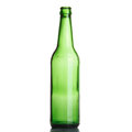 Free Green Bottle Isolated On The White. Royalty Free Stock Image - 27343366
