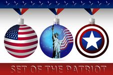 Free Set Of The Patriot Stock Photography - 27340782