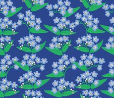 Free Floral Seamless Pattern. Flower Background Royalty Free Stock Photos - 27341148