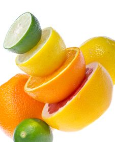 Free Citrus Fruits Stock Photography - 27341522
