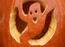 Free Halloween Pumpkin Carvings Royalty Free Stock Image - 27342896
