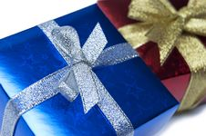 Free Gift Boxes Stock Photo - 27343050