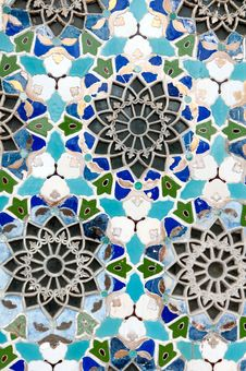 Free Colorful  Mosaic Wall Royalty Free Stock Photography - 27343287