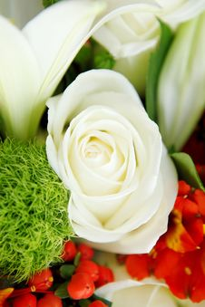 Free Close Up Of Wedding Bouquet Royalty Free Stock Images - 27343809