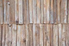 The Background From Firewood Stock Image