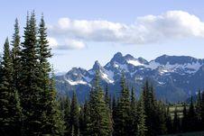 Free Mount Rainier Stock Photo - 27345980
