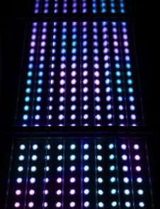 Free Light Spots Matrix Background Royalty Free Stock Image - 27347566