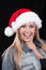 Free Christmas Santa Girl Royalty Free Stock Images - 27340269