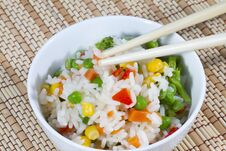 Free White Rice Stock Images - 27350434
