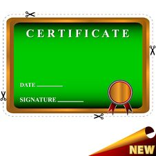 Free New Best Certificate Stock Images - 27350544