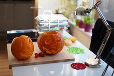 Free Halloween Pumpkin Royalty Free Stock Image - 27353526