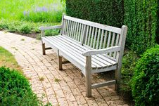 Free Bench In The Park Stock Photo - 27355460