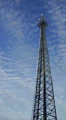 Mast Radio Waves Stock Images
