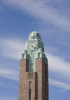 Free Clock Tower Helsinki Royalty Free Stock Images - 27357969