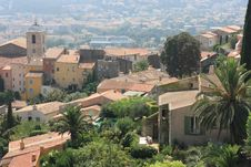 Free Typical Village In South Of France Stock Photography - 27358032