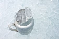 Free Container With Ice Royalty Free Stock Photography - 27359957