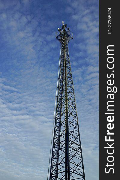 Mast radio waves