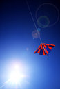 Free Kite On Blue Sky Royalty Free Stock Images - 27363249
