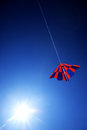 Free Kite On Blue Sky Stock Photo - 27363270