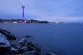 Free Näsinneula Tower And Rocky Shore Stock Image - 27364661