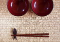 Free Chopsticks In Asian Set Table Stock Photos - 27366493