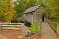 Free Old Grist Mill In The Fall. Stock Image - 27367901