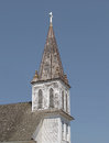 Free Old Wooden Church Steeple Isolated. Stock Images - 27368884