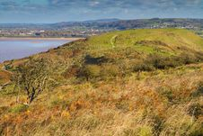 Free Brean Down Somerset In Autumn Royalty Free Stock Image - 27362736