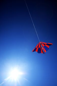 Free Kite On Blue Sky Stock Photo - 27363270