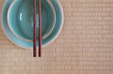 Free Chopsticks In Asian Set Table Stock Photography - 27366502