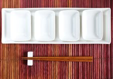 Free Chopsticks In Asian Set Table Stock Photography - 27366512