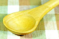 Free Wooden Scoop. Stock Images - 27367084