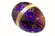 Christmas Decoration Isolated On White Stock Image