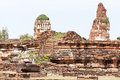 Free Ancient Temple Of Ayutthaya Royalty Free Stock Images - 27370629
