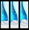 Free Christmas Banners With Embellishment Stock Image - 27379601