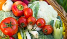 Free Fresh Vegetables Royalty Free Stock Photos - 27373898