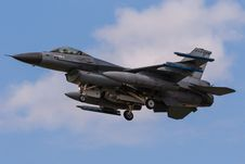 Free Netherlands Airforce F-16 Stock Photography - 27375682