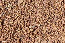 West Australian Gravel Rounded Pebbles Stock Photo
