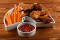 Free Chicken Wings Royalty Free Stock Photo - 27381285