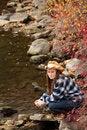 Free Young Lady Enjoying Nature Stock Photos - 27384063